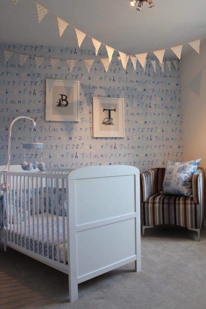 Splashy Baby Boy Nursery Themes Convention London Traditional Nursery  Remodeling Ideas With Alphabet Art Beige Wall