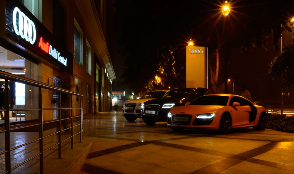 Audi Delhi Central One Of The Best Luxury Car Showrooms In India