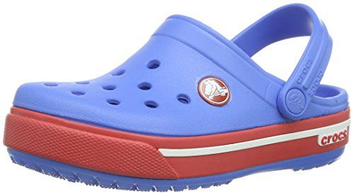 Crocs 204021, Zapatos de Cordones Oxford Unisex Niños, Azul (Ocean), 32/33 EU