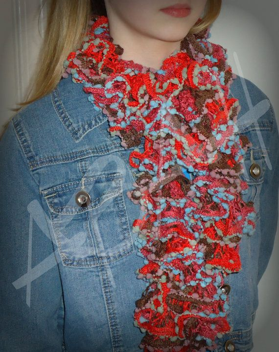Ruffled Sashay Scarf by AmandaHilburnART on Etsy, $35.00 | Sashay ...