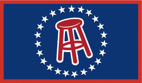 Official Barstool Flag Bar stools, Beer pong tables