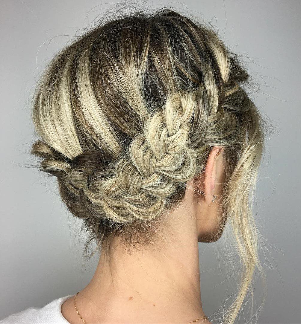 60 trendiest updos for medium length hair in 2019 | wedding