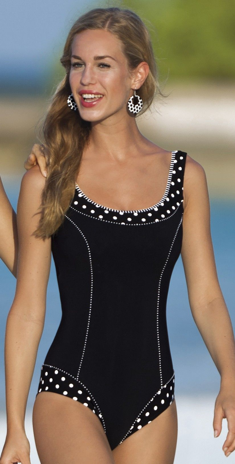 Sunflair 2012 Modern Arts Mastectomy Swimsuit 22289 In C