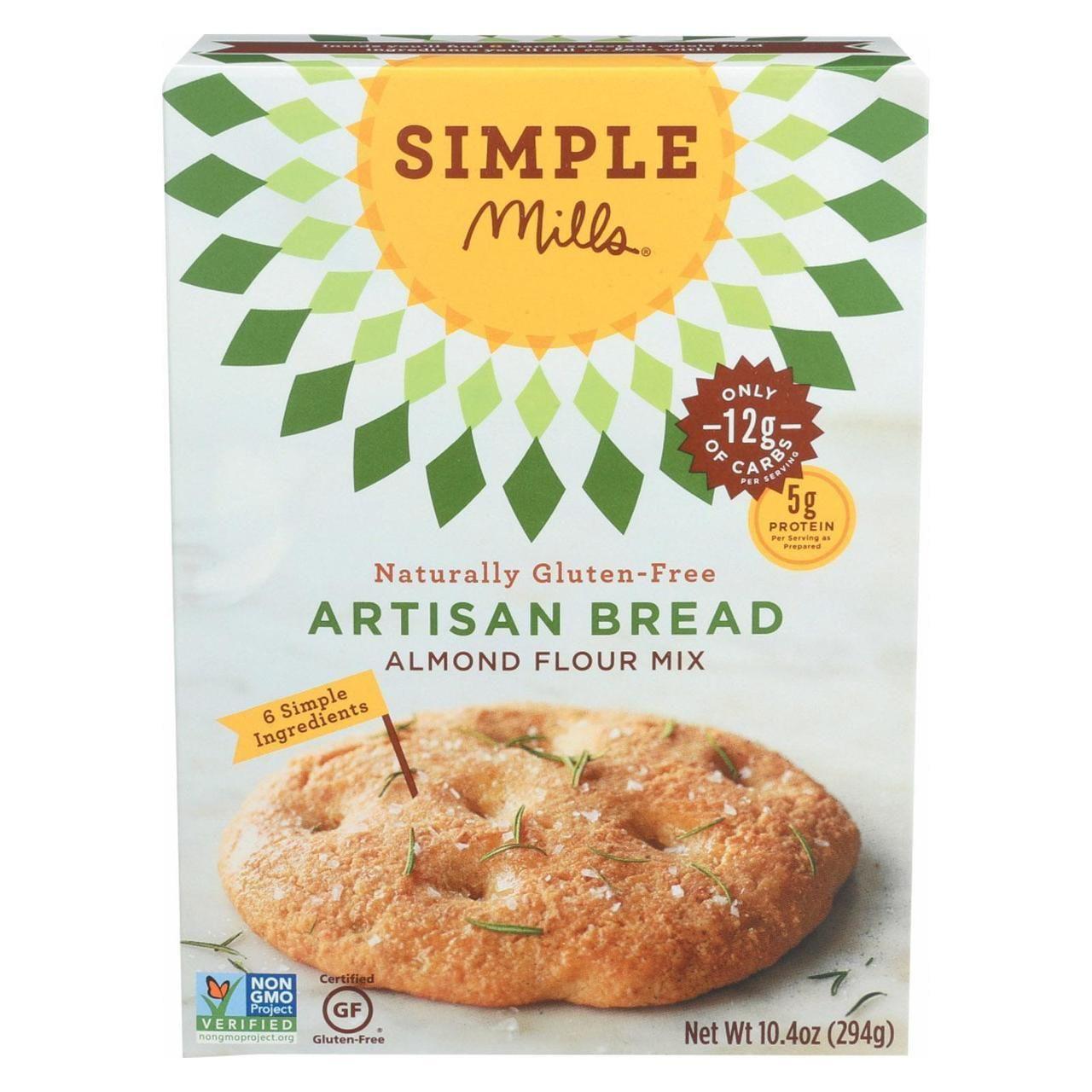 Simple mills almond flour artisan bread mix case of 6