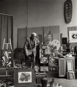 Georges Braque by Ida Kar 1960
