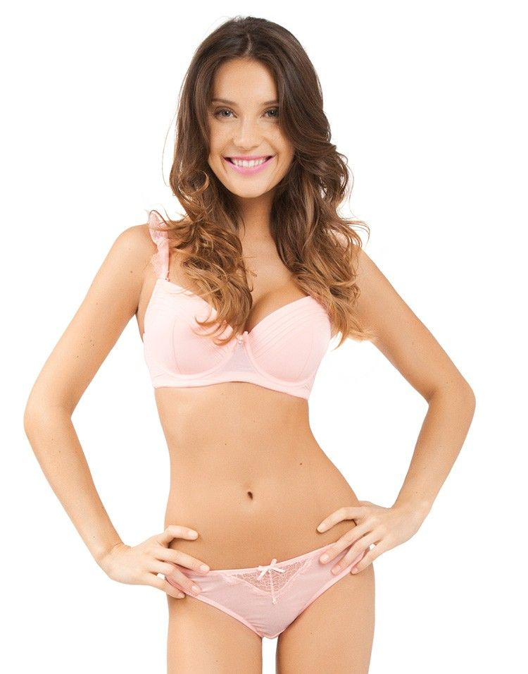d316120600394 light pink bra and panty set by adore me