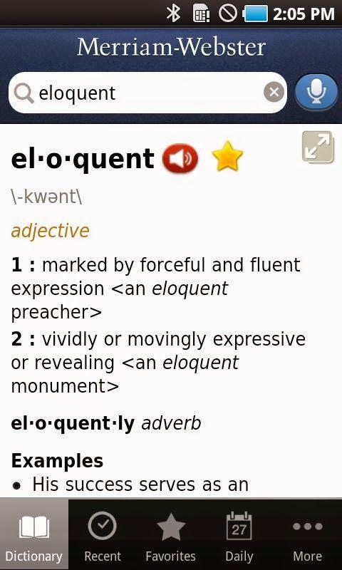 Merriam-Webster's Offline Dictionary Apk   b   Talking dictionary