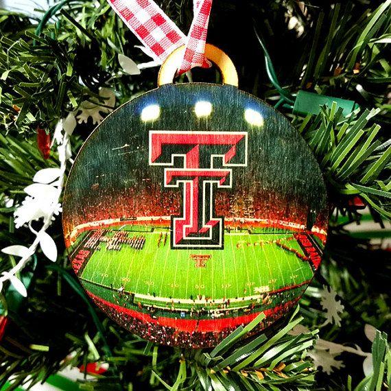 texas tech christmas ornament gift tag by evetaitcreations - Texas Tech Christmas Decorations
