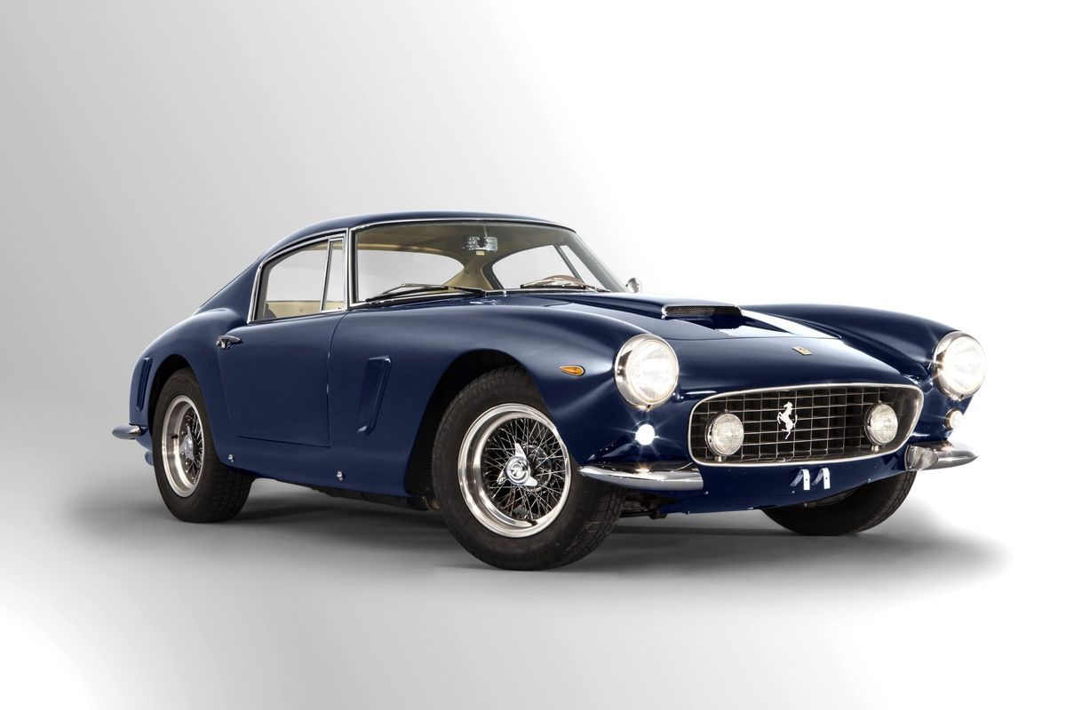 Lot 1963 Ferrari 250 Gt Swb Berlinetta Titre De Circulation