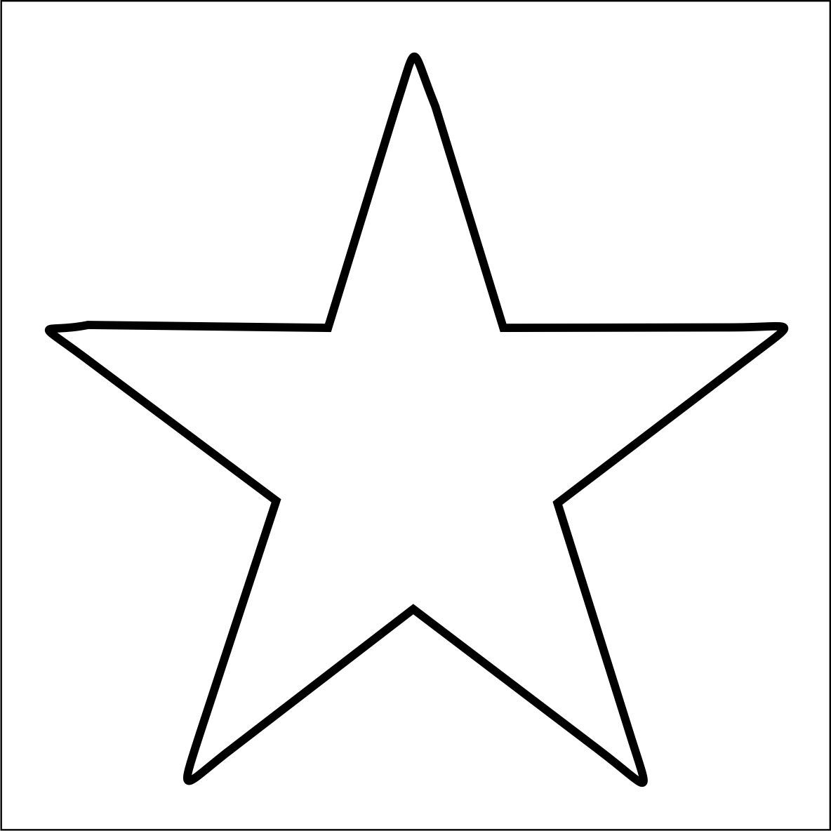 Dibujo estrellas para colorear - Dibujos para colorear - IMAGIXS ...