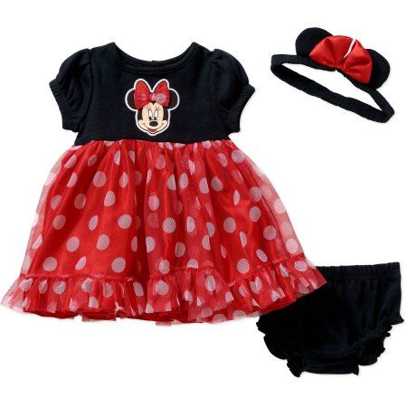 753628a3d2bf Buy Minnie Mouse Newborn Baby Girl Dress