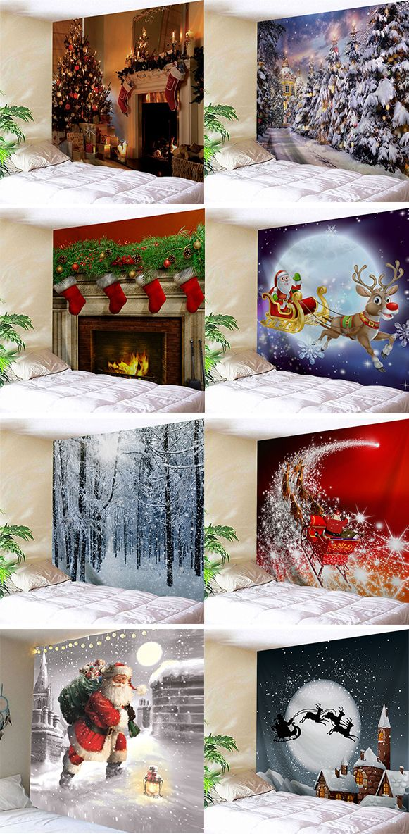 home decor ideas for youChristmas Wall Tapestries Wall Tapestries