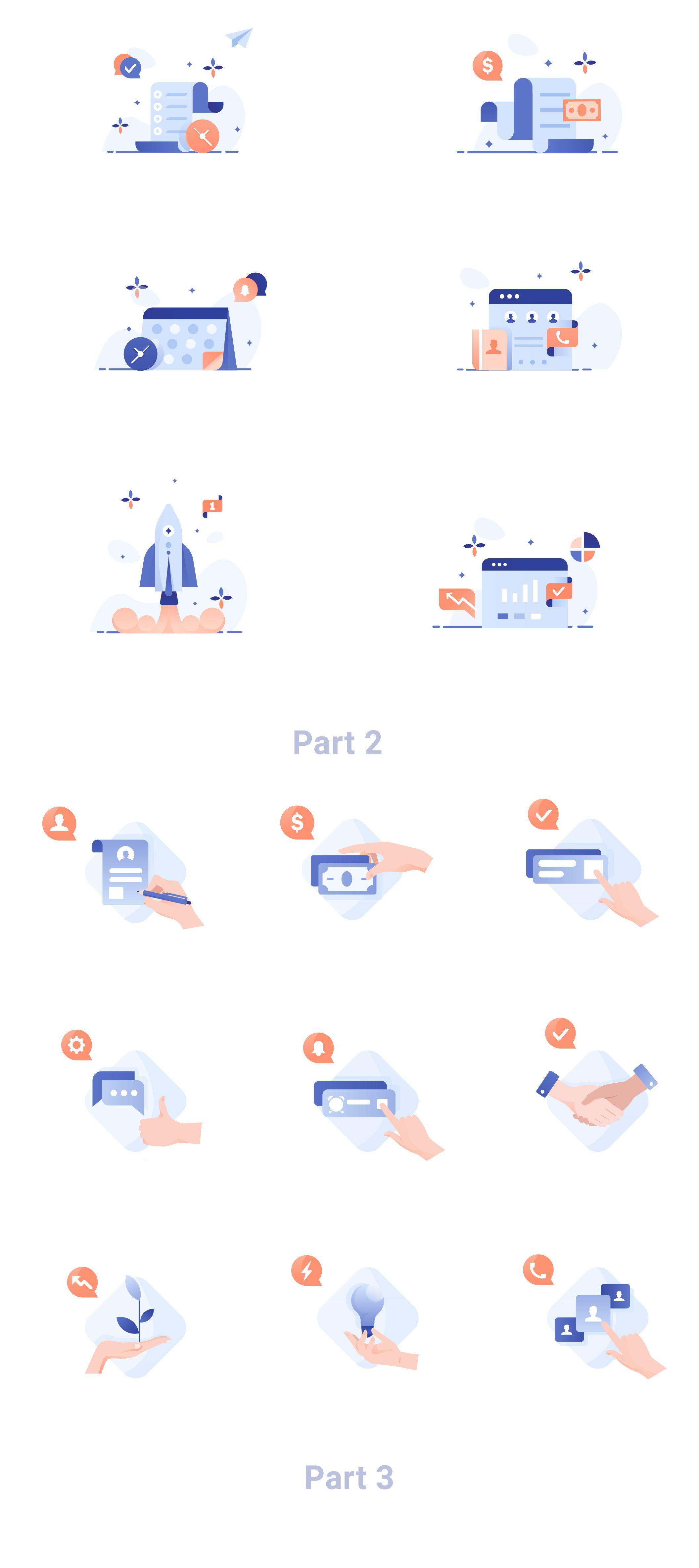 Business Illustration Pack Illustrations On Ui8 Icon Design Inspiration Business Illustration Illustration
