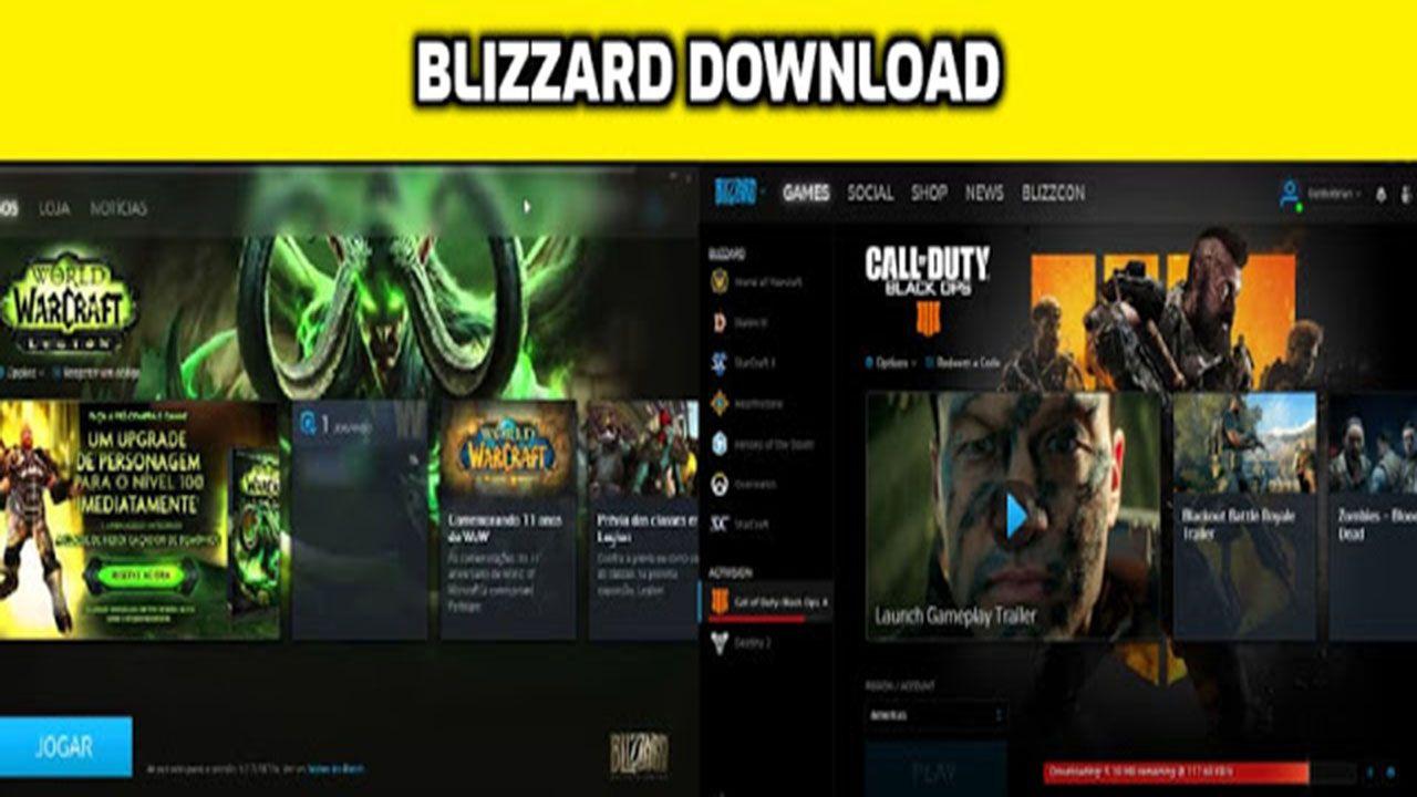 Blizzard Download Jogos Compras