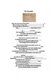 Worksheet: the Preamble | Folder | Pinterest | Worksheets, Social ...
