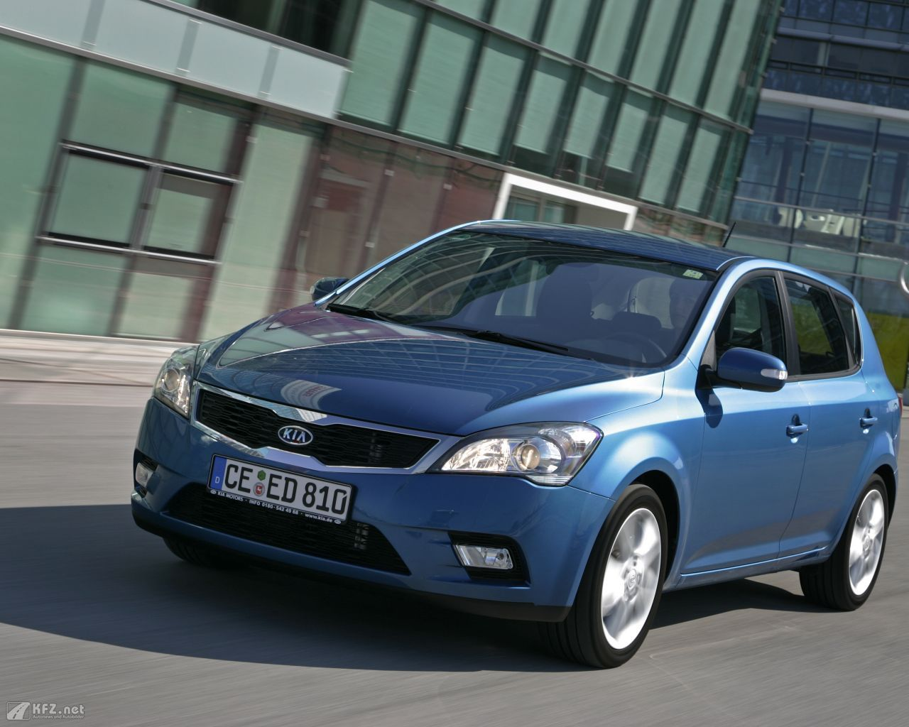 Kia ceed Bilder. Über 250.000 verkauft Fahrzeuge! (mit