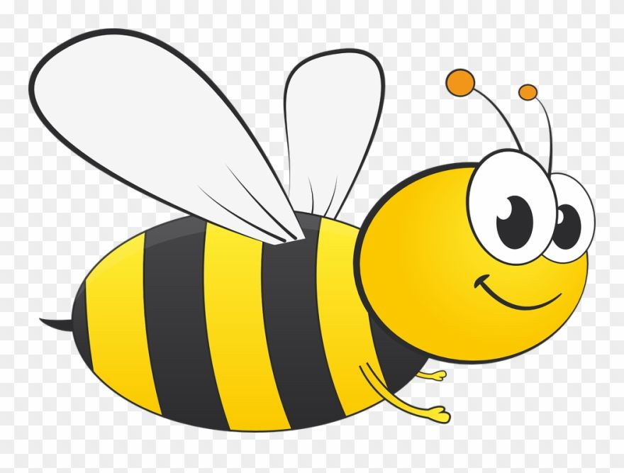 Download Hd Clipart Of Honey Bee And Busy Bee Clipart Transparent Background Png Download And Use The Free Honey Bee Drawing Bee Drawing Honey Bee Cartoon