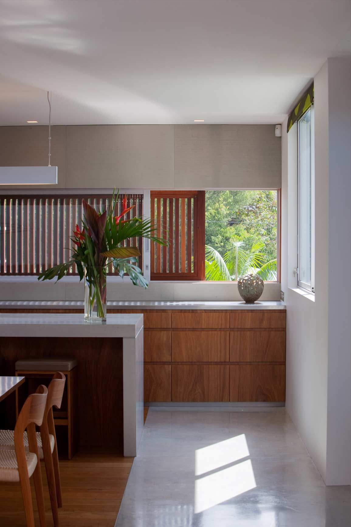 Modern Asian Kitchen Virginia Kerridge Architecture Kitchen Window Splash Backs