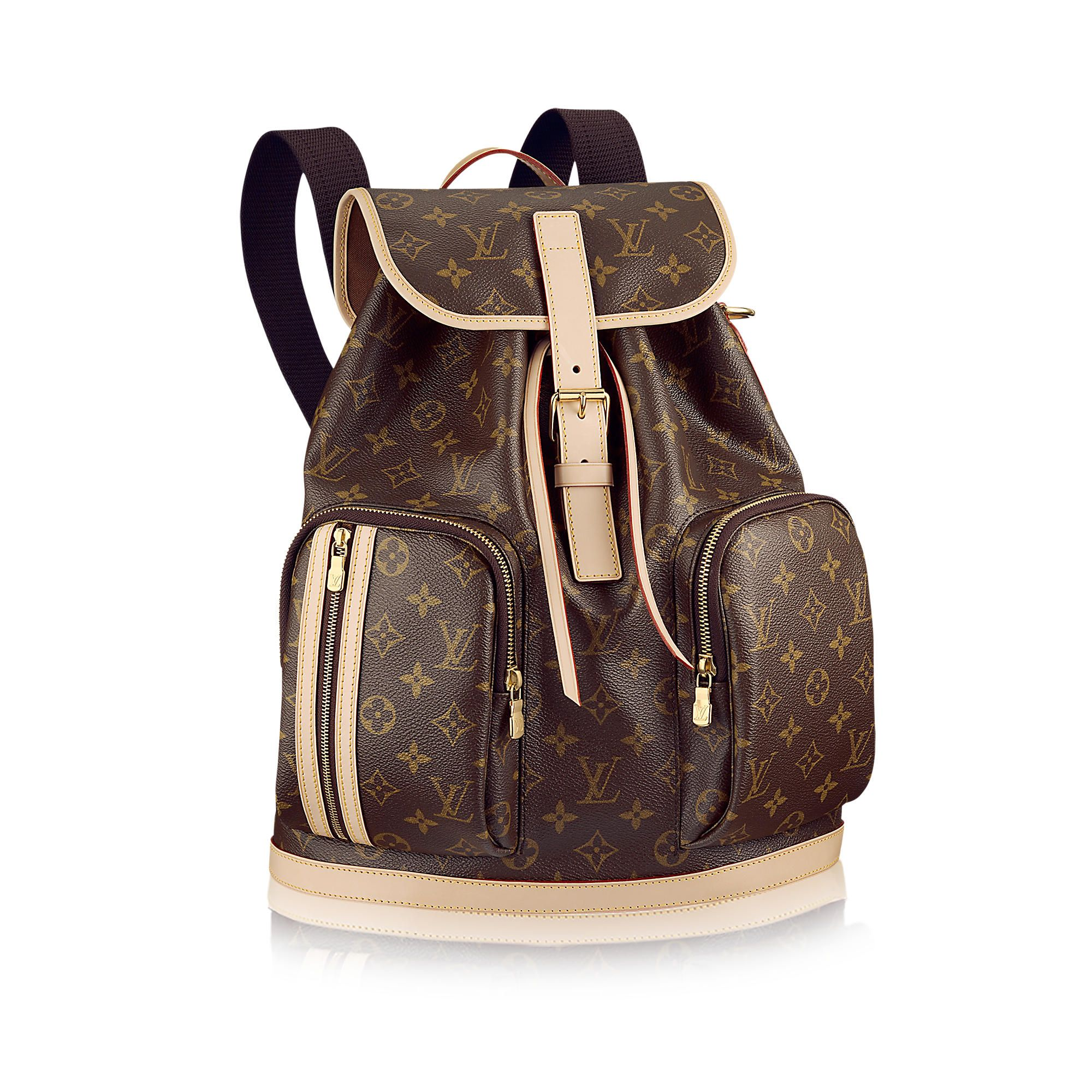 Discover Louis Vuitton Bosphore Backpack: The Bosphore Backpack in striking  Monogram canvas is a wonderfully practical bag. With its numerous pockets,  ...