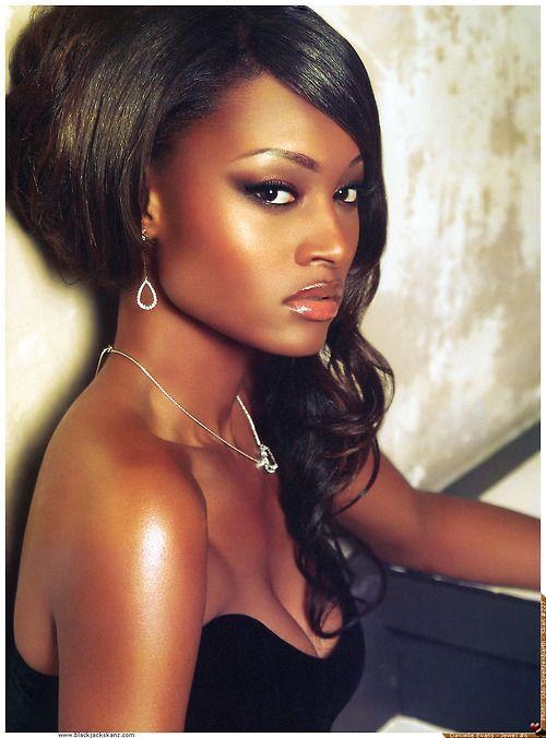 Very beautiful black female models agree