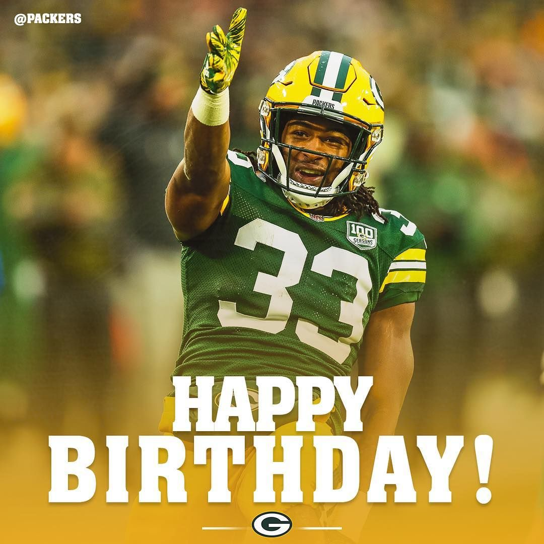 Tap Twice To Wish Showtyme 33 A Happy Birthday Happy Birthday Green Bay Packers Packers