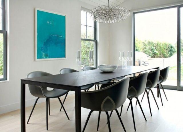 Salle à manger contemporaine - 111 idées de design réussi | Repas ...