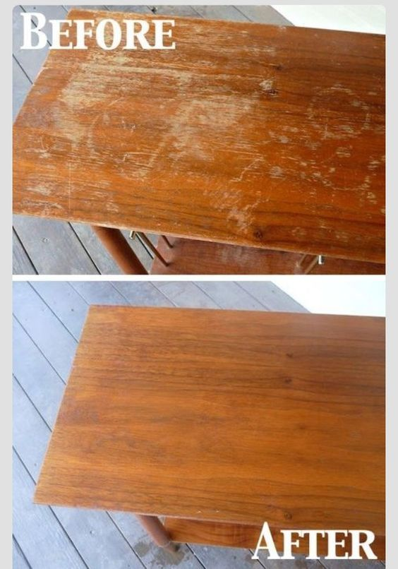 Fix the furniture scratches at home   Diy cleaning ...