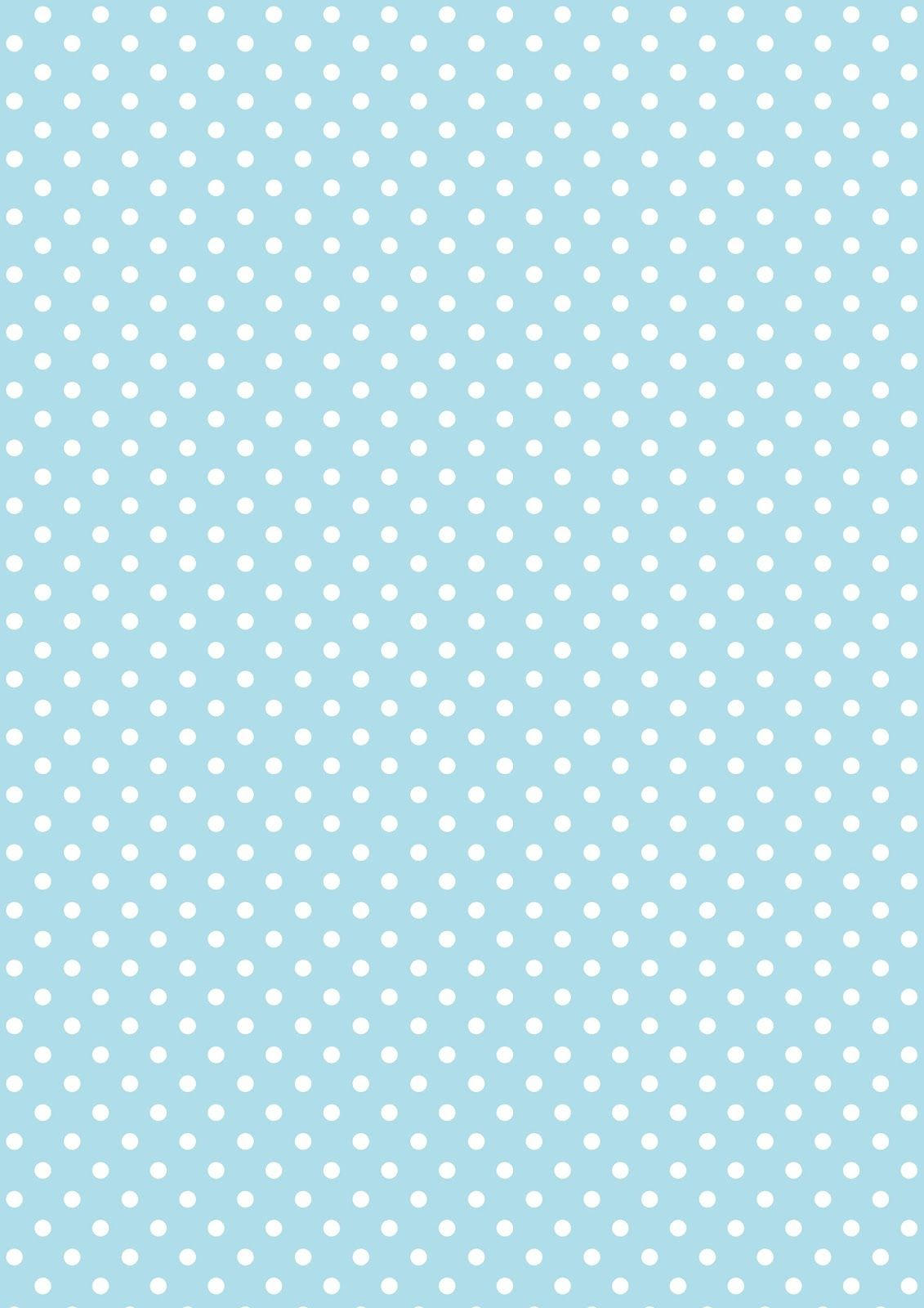 free digital polka dot scrapbooking paper baby blue