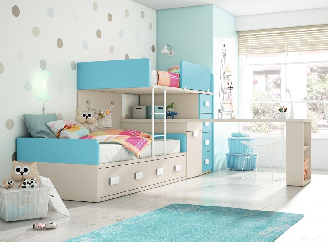 Literas Para Dormitorios Infantiles Conforama Tren Azul Ideas  # Muebles Kazzano Que Opinion Teneis