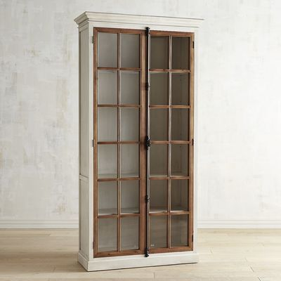 Pier One 91 Cremone Cabinet Tall Cabinet Home Glass Cabinet Doors