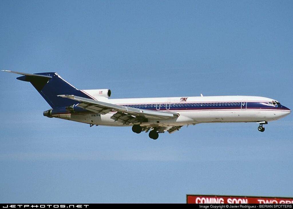Photo of N367PA - Boeing 727-221(Adv) - Express One