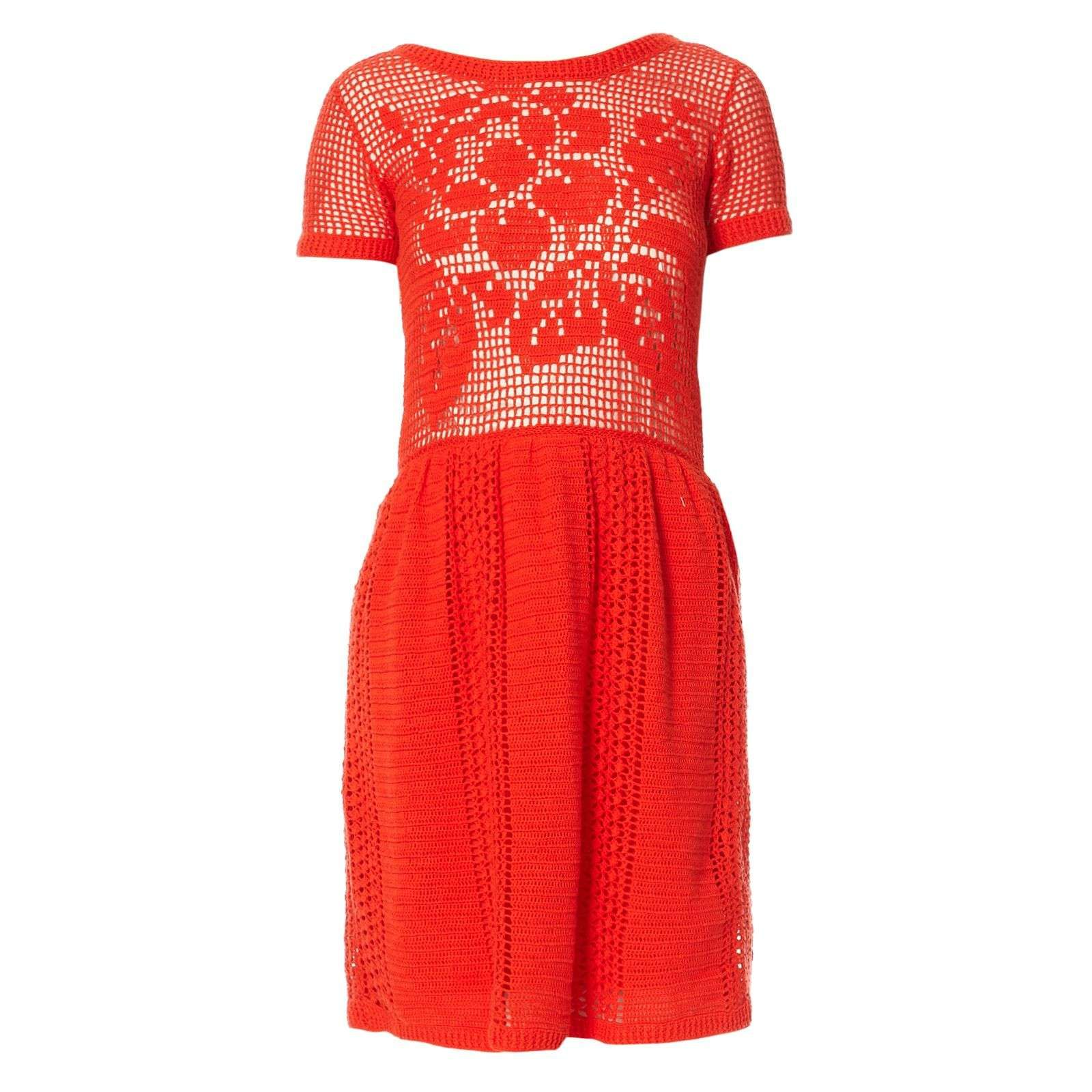 Robe courte - rouge - Manoush - Ref: 1534527 | Brandalley