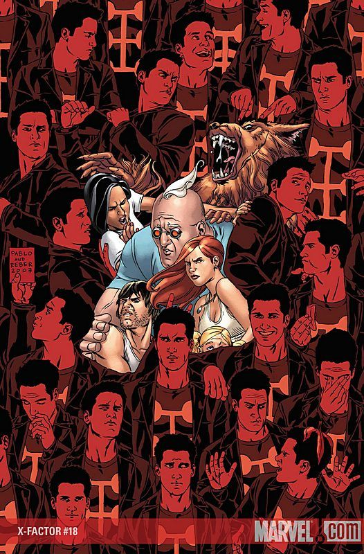 X-Factor #18 Cover