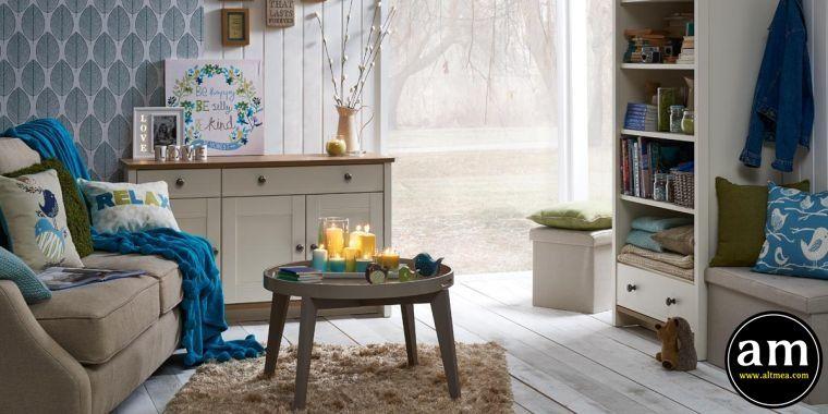 26 Déco Salon Ente blau: Malerei, Möbel und Accessoires | Dekoration ...