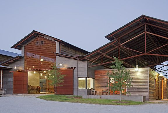Private Horse Farm Designed By GH2 Gralla Equine Architects Lake