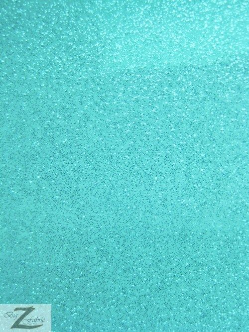 Vinyl Fake Leather Upholstery Sparkle Glitter Fabric Turquoise Sold