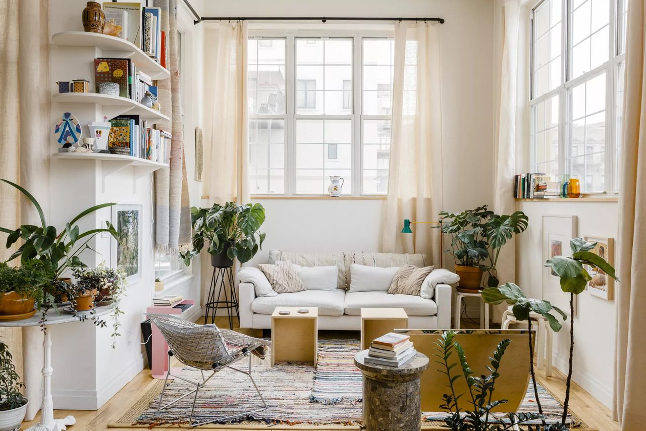 Light Brooklyn loft Home, Nyc apartment decorating