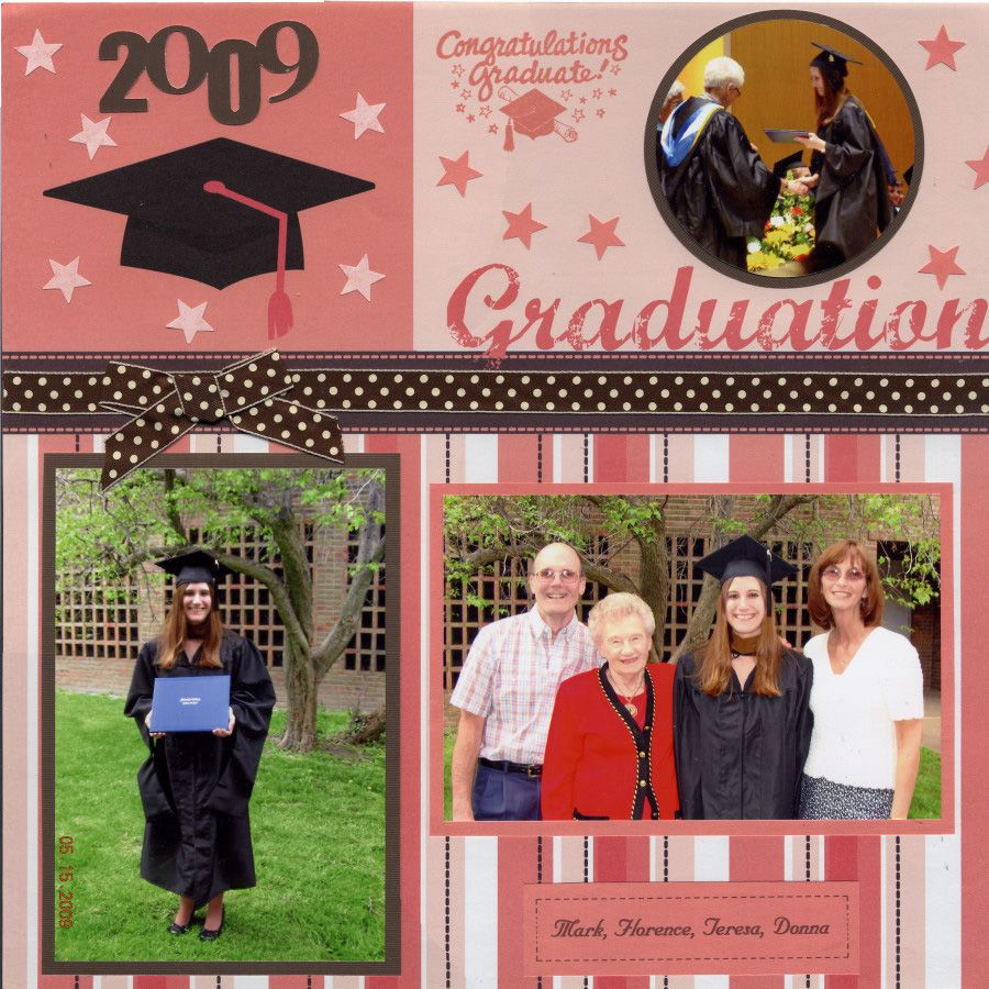 Scrapbook ideas with ribbon - Related Pictures Graduation Scrapbook Ideas Graduation Scrapbook Car Pictures