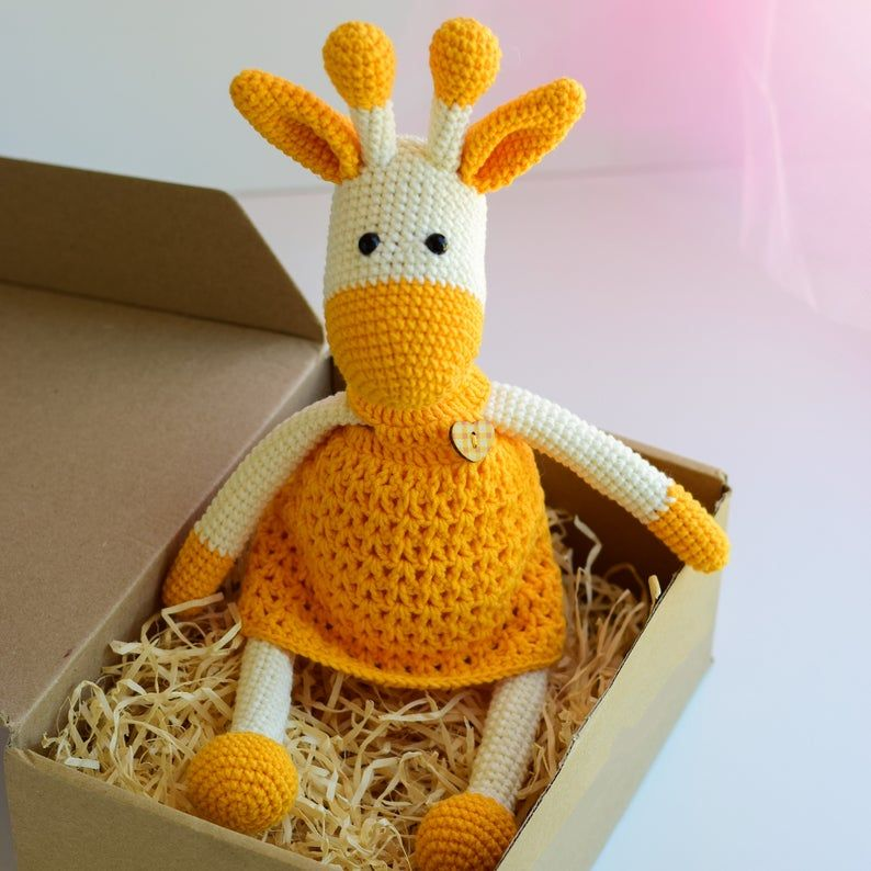 Amigurumi Giraffe – Free Crochet Pattern | Giraffe crochet ... | 794x794