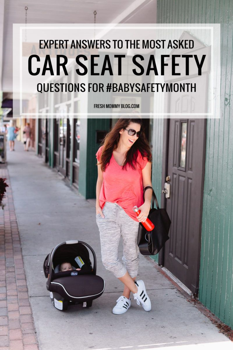 Car Seat Safety for BabySafetyMonth + Giveaway Car