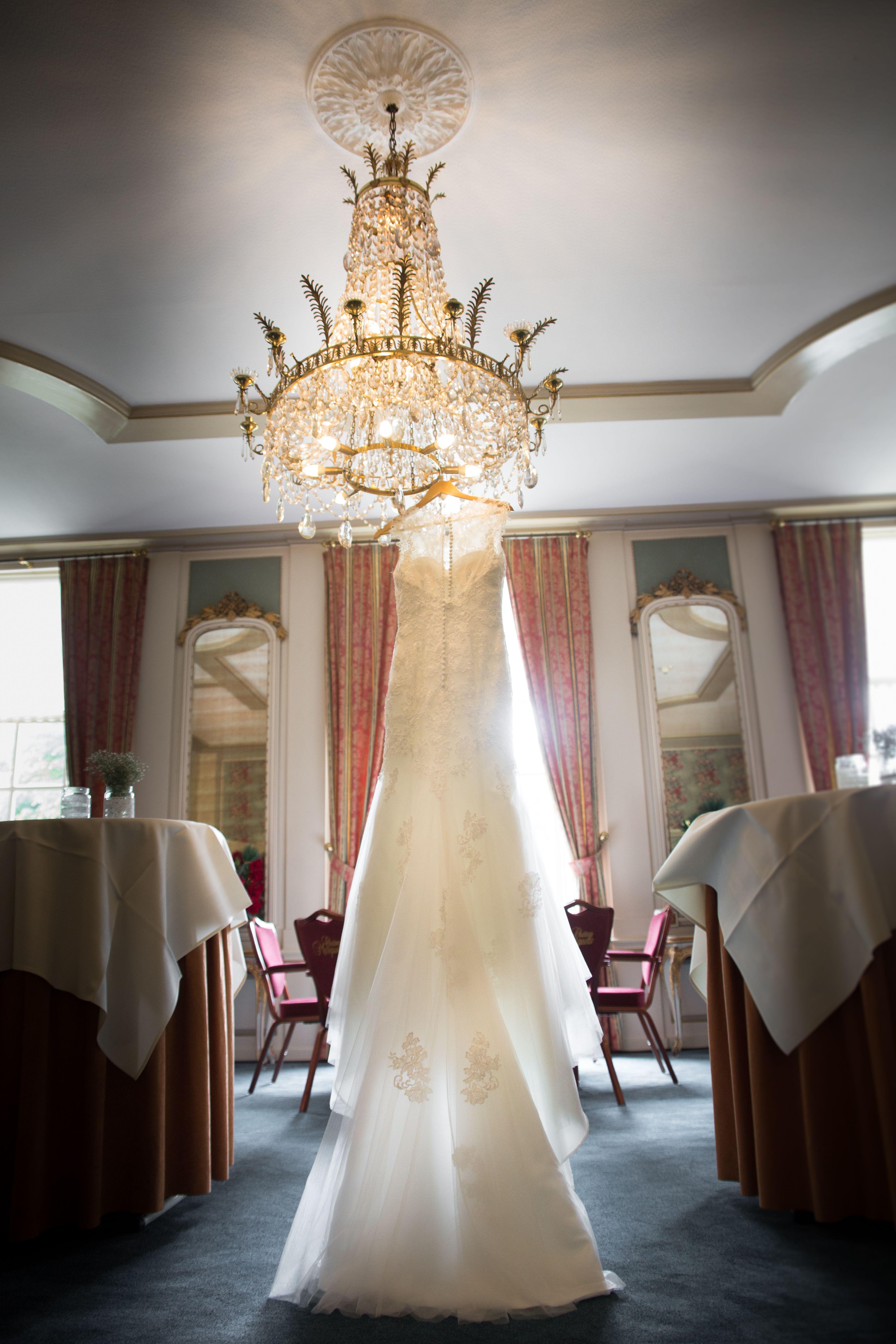 Beautiful wedding dress by luminant weddings