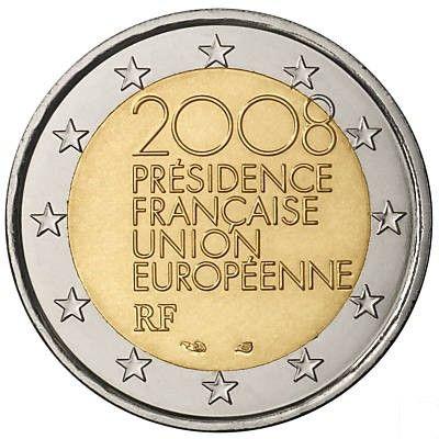 Pi ce de 2 euro comm morative france 2008 2 euro - Comptoir nantais de la piece detachee ...