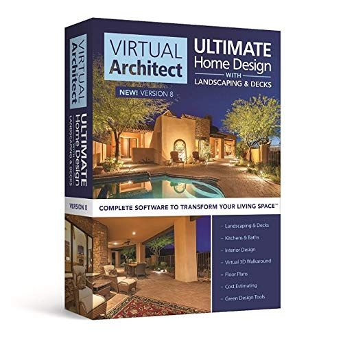 3d Design Using Home Designer Chief Architect Multi Level: Virtual Architect Ultimate Home Design With Landscaping