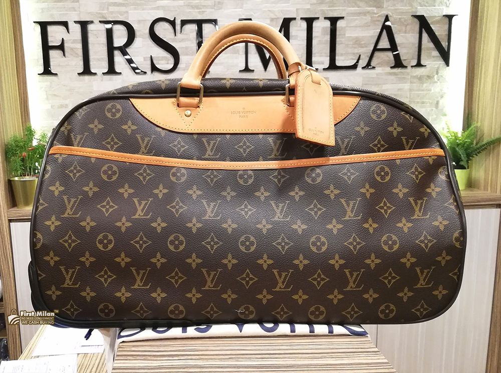 LOUIS VUITTON Monogram Eole 50 Travel Bag. Price RM5,880