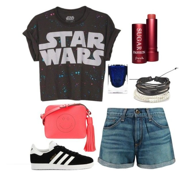 """""""Star Wars"""" by toescape on Polyvore featuring rag & bone, Anya Hindmarch, Chrysalis, Zodaca, adidas and Fresh"""