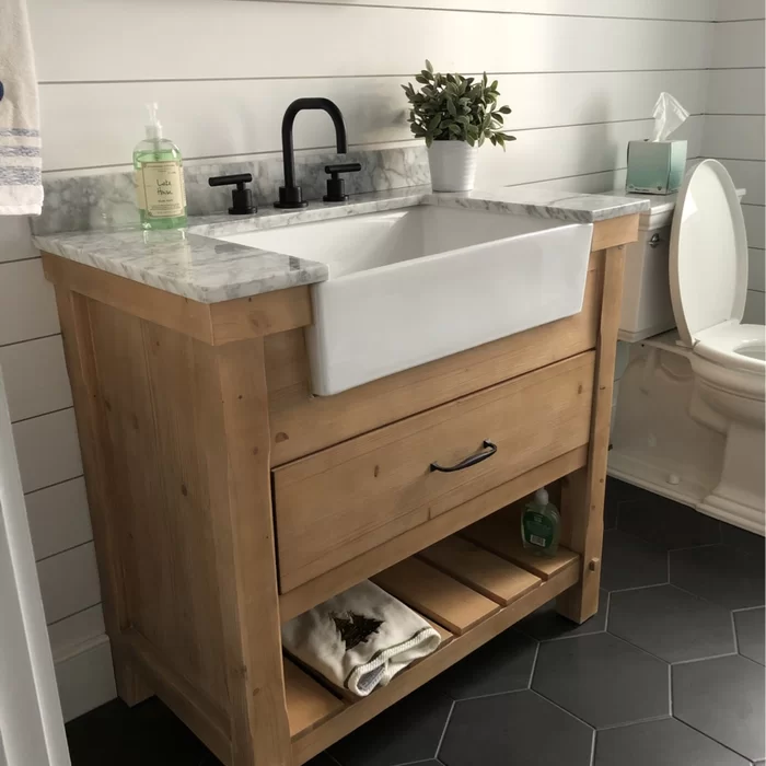 "Kordell 36"" Single Bathroom Vanity Set"