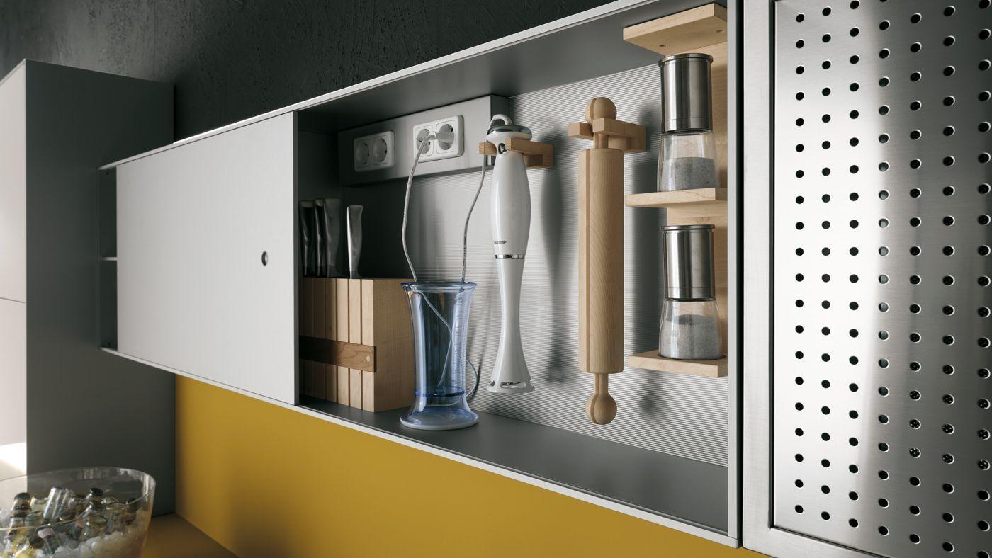 Valcucine, organizer cabinet | Residential Design Ideas | Pinterest