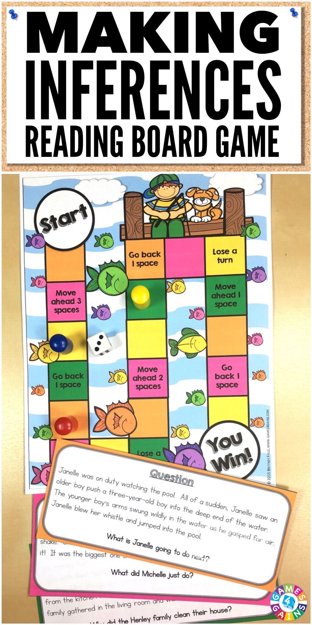 So Easy To Use And The Stories Were So Relatable To The Kids Making Inferences Can Be Reading Comprehension Games Inferencing Task Cards Inference Activities [ 2048 x 1024 Pixel ]