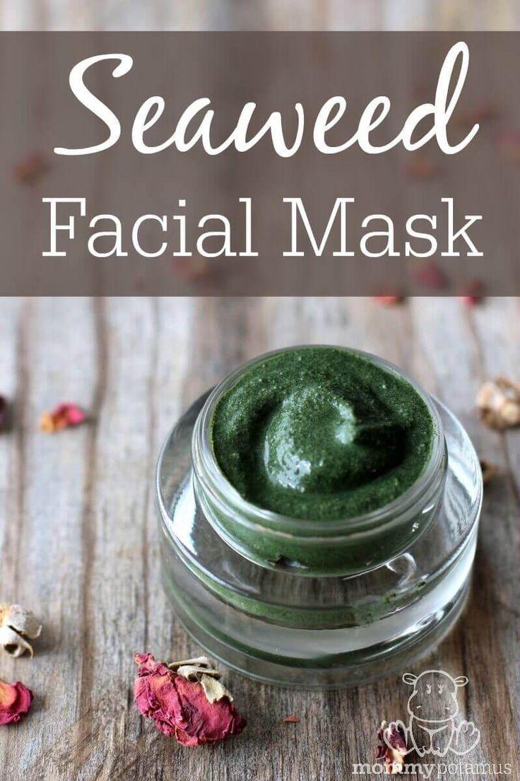 How To Make A Nourishing Seaweed Mask nailcarediy Nails