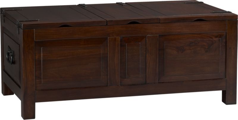 Hunter Ii Trunk Crate And Barrel Home Sweet Home Pinterest Living Room Room And Crate